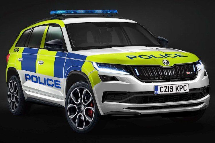 Nederlandse politie, neem deze Kodiaq RS!