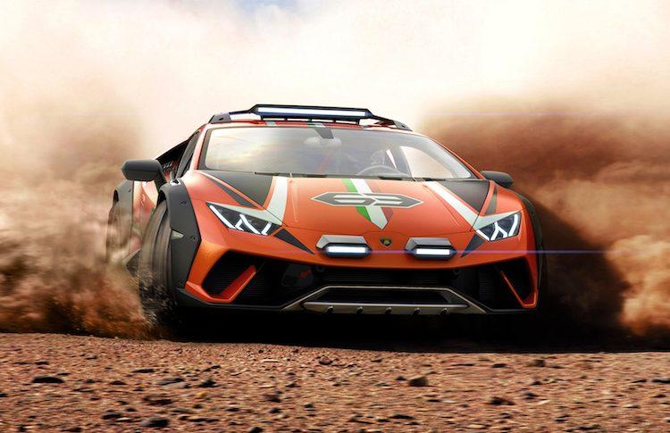 Serieus, Lamborghini maakt off-roader van Huracán EVO