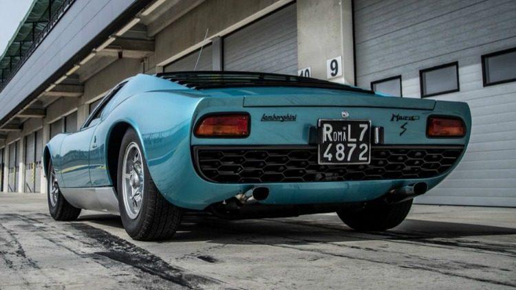 Lamborghini Miura LP400S '71