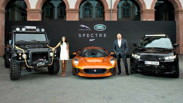 Land Rover - Jaguar - James Bond - Spectre