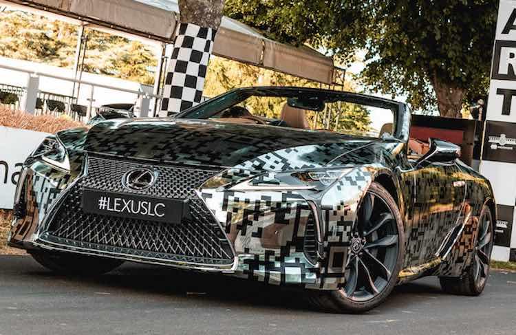 Vaarwel Mercedes SL, hallo Lexus LC Convertible