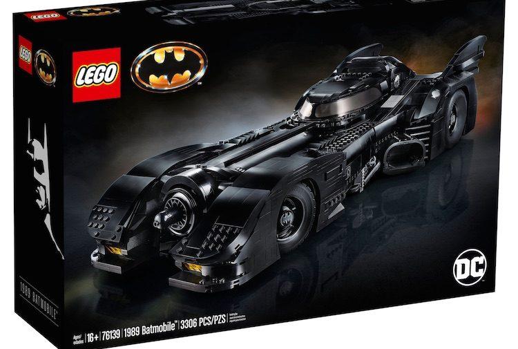Met deze LEGO Batman auto ben je wel even zoet