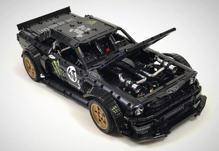 Is dit het meest gestoorde bouwwerk van LEGO Technic?