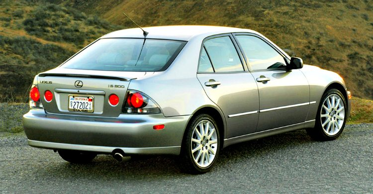 Lexus IS300 Sport (XE10, US) '03