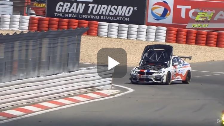 Video: BMW M4 maakt een wel heel domme crash