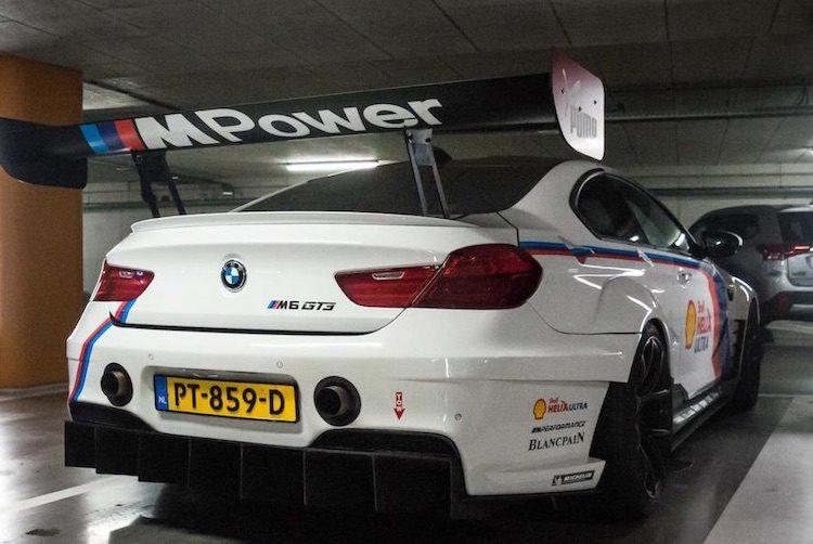 Nederlander verkoopt zijn BMW M6 GT3