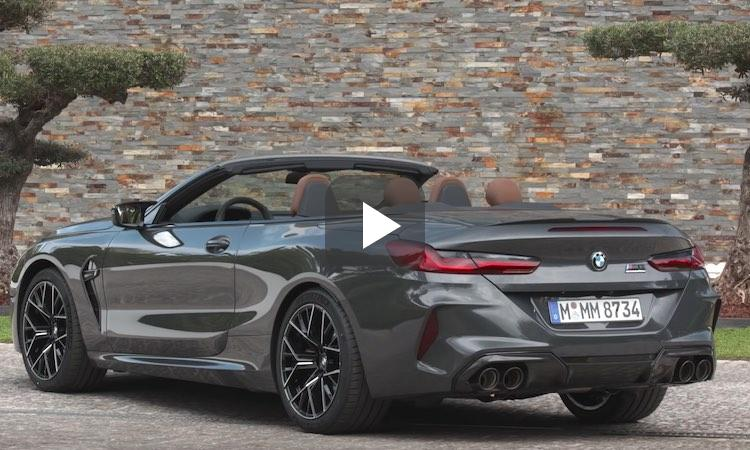 BMW M8 Competition Cabrio rijtest
