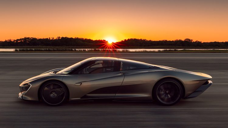 McLaren Speedtail Prototype