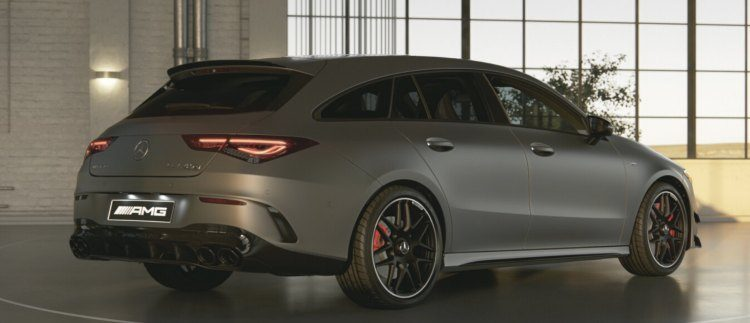 Mercedes-AMG CLA45S Shooting Brake
