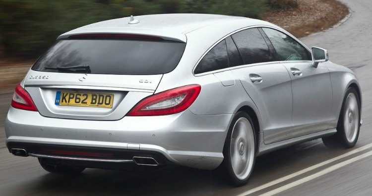 Mercedes-Benz CLS 350 Shooting Brake (X218) '12