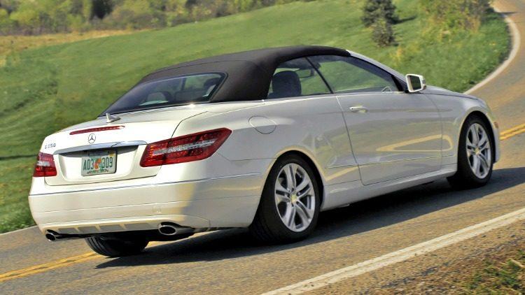 Mercedes-Benz E350 CGI Cabriolet Elegance (A207) '10