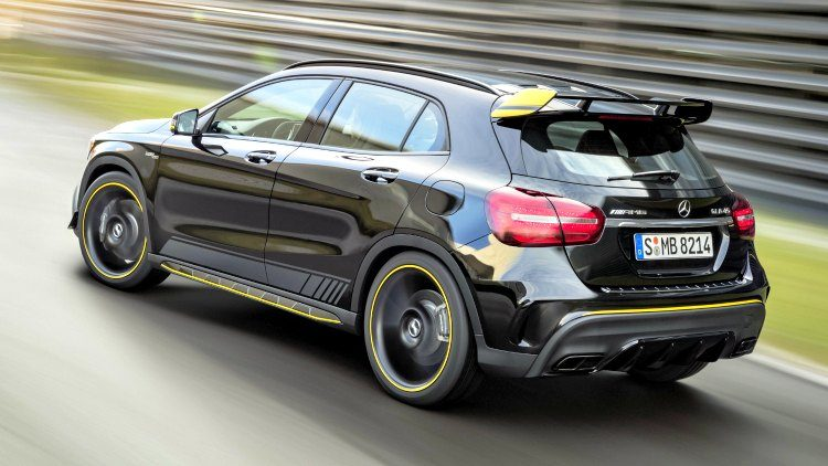 Mercedes-AMG GLA45 Yellow Night Edition (X156)