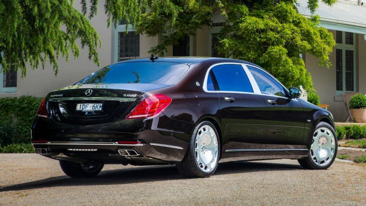 Mercedes-Maybach S600 (V222)