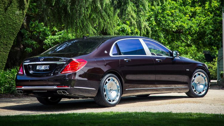 Mercedes-Maybach S600 (X222) '17