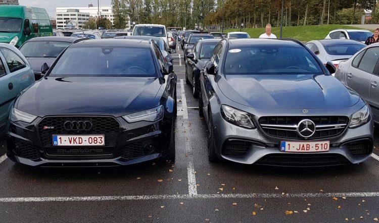 Audi RS6 vs Mercedes E63