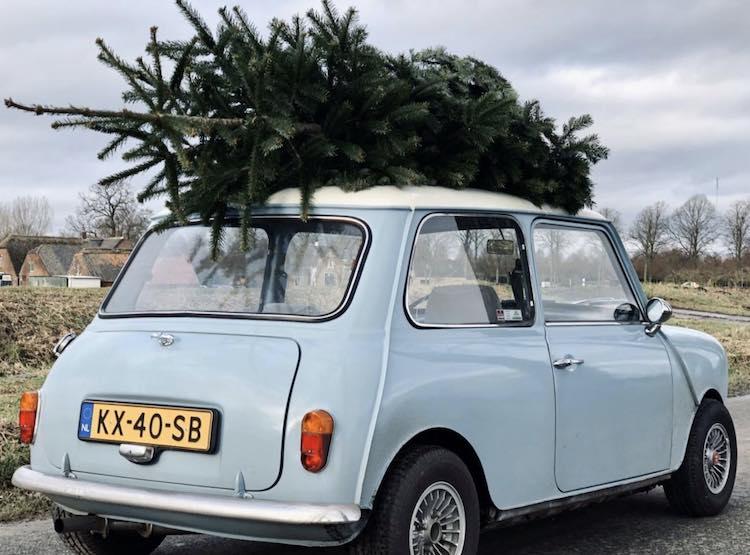 Driving Home for Christmas met je Mini