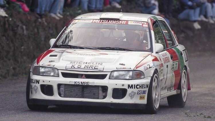 Mitsubishi Lancer Evolution II Rally Car '94
