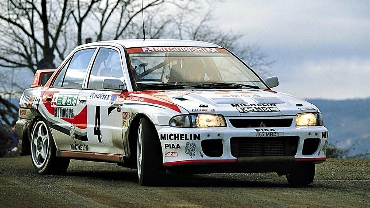 Mitsubishi Lancer Evolution Rally Car '93