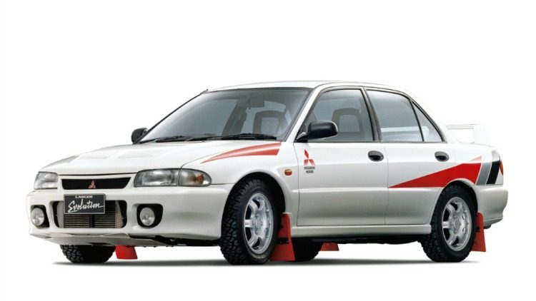 Mitsubishi Lancer Evolution RS (CD9A) '92