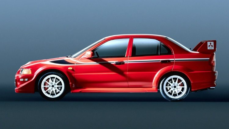 Mitsubishi Lancer Evolution VI GSR Tommi Makinen Edition (CP9A)