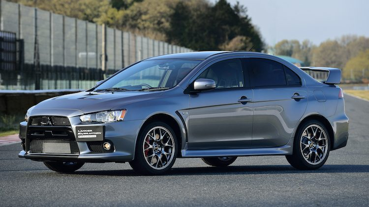 Mitsubishi Lancer Evolution X Final Edition (C24A) '15