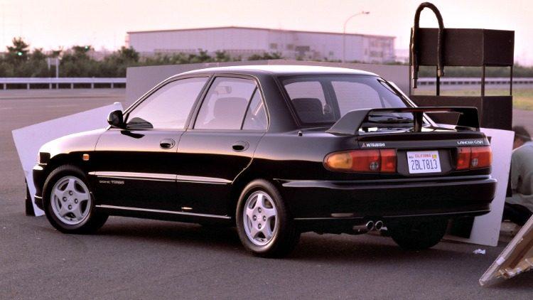 Mitsubishi Lancer GSR (CD5A) '91