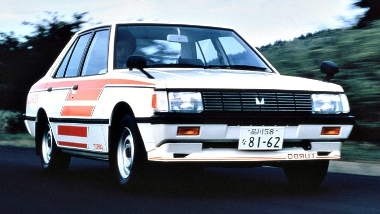 Mitsubishi Lancer 1800 GSR IC Turbo '81