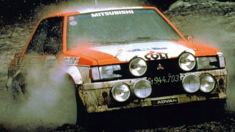 Mitsubishi Lancer Turbo Rally '81