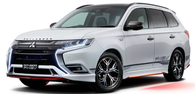 Mitsubishi Outlander PHEV Accessorized (J) '19