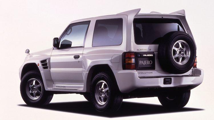 Mitsubishi Pajero Evolution (E-V55W) '97