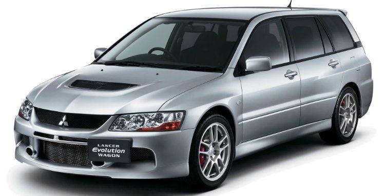 Mitsubishi Lancer Evolution IX GT Wagon '05