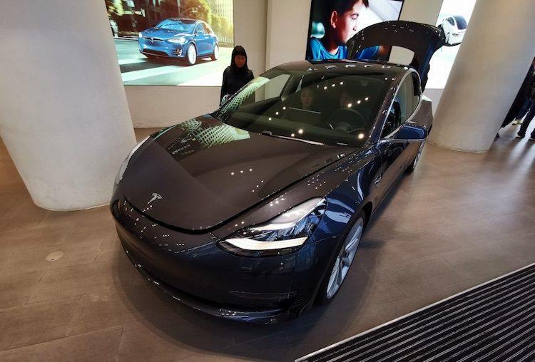 Zo kan de Tesla Model 3 niet gestolen worden