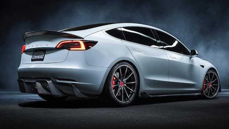 Deze Tesla Model 3 is een lust voor het oog