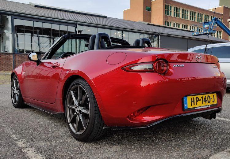 Autoblog Garage: Mazda MX-5 ND van Ruben