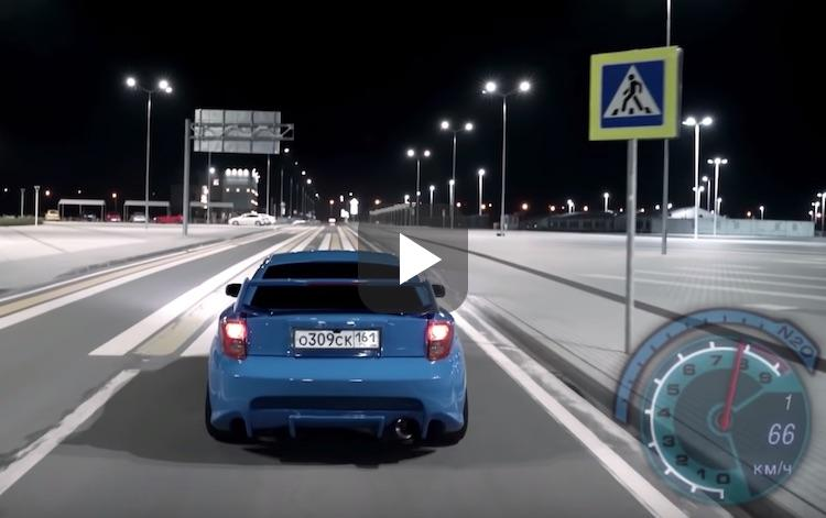 Video: Need For Speed, maar dan in het echt