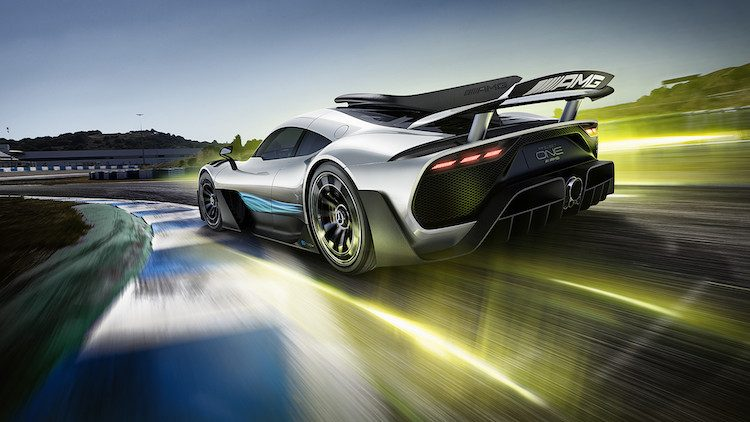 Mercedes heeft handafdruk nodig voor de AMG One