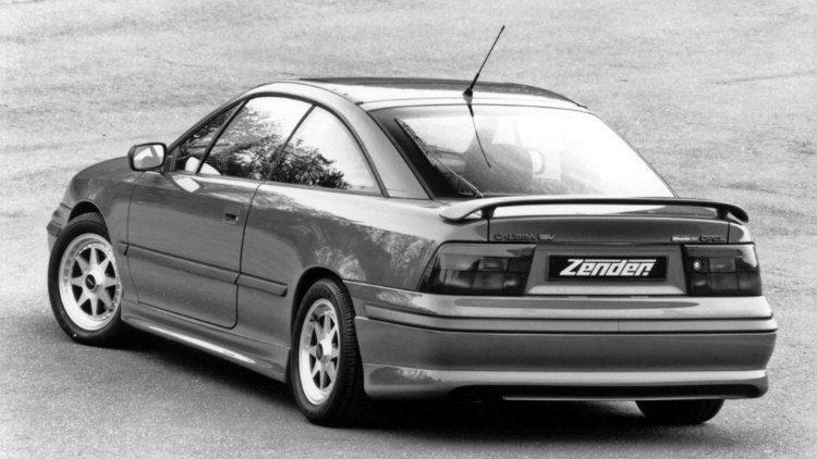 Opel Calibra Zender