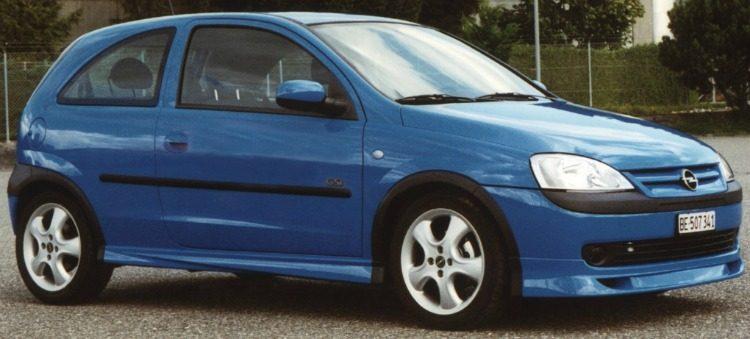 Opel Corsa GSi Irmscher (C) '01