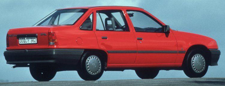 Opel Kadett 1.6 S (E) '85