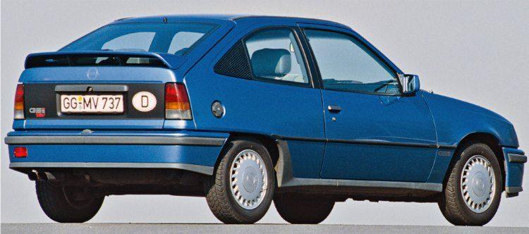 Opel Kadett GSi (E) '88