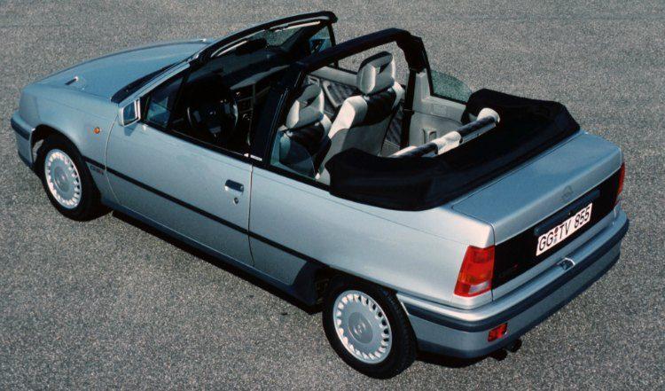 Opel Kadett GSi Cabrio (E) '87
