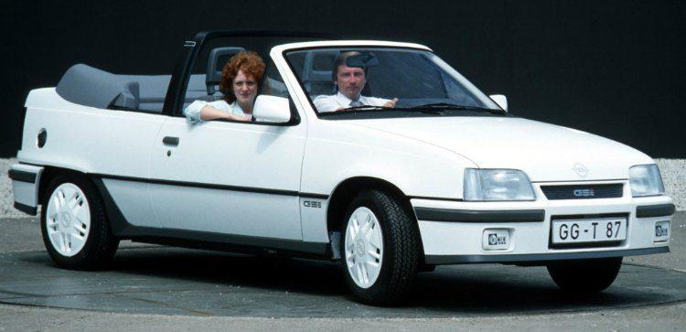 Opel Kadett Cabrio GSI (E) '87