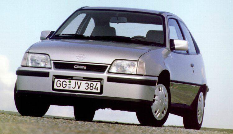 Opel Kadett GSi (E) '84