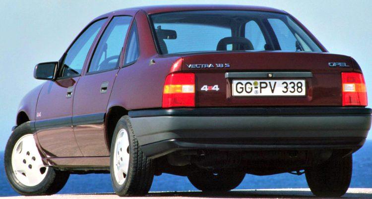 Opel V extra 1.8 S 4x4 (A) '88