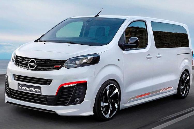 Opel Zafira Life Irmscher is3