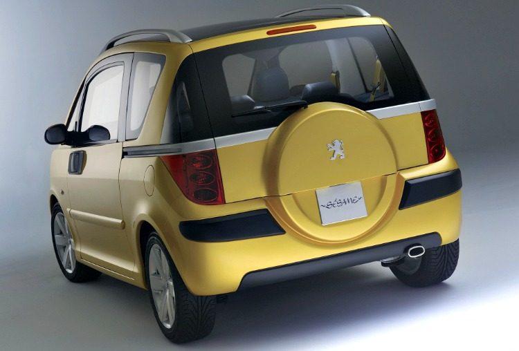 Peugeot Sesame Concept '02