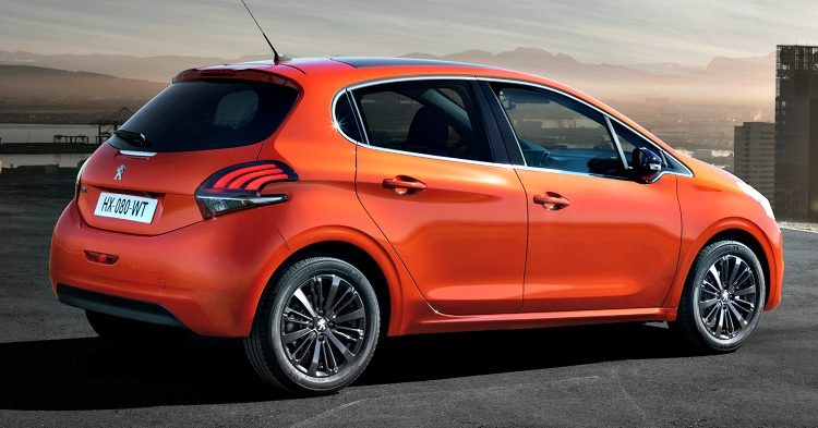 Peugeot 208 BlueLease '19