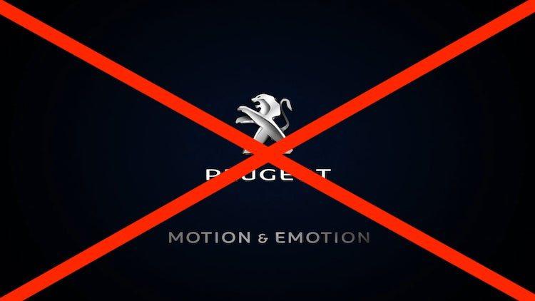 Peugeot slaat met andere slogan nieuw tijdperk in