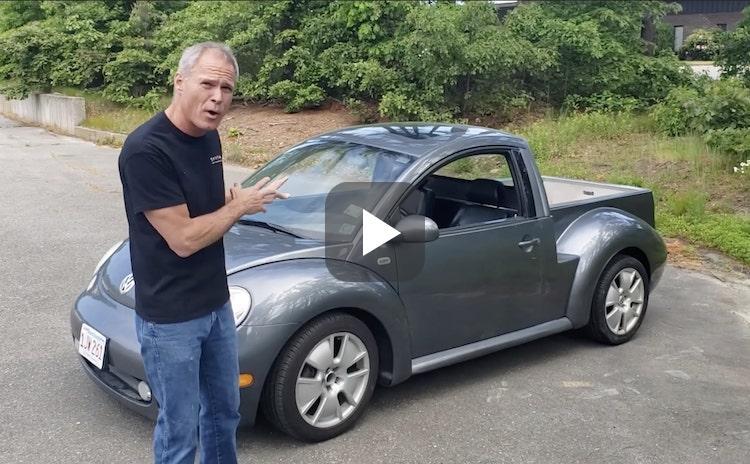 Volkswagen Beetle, maar dan als pickup