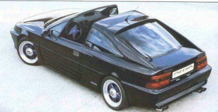 Piecha Calibra targa '95